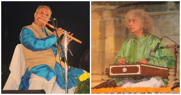 Listen: Hariprasad Chaurasia, Shivkumar Sharma and others play compositions in Matta taal