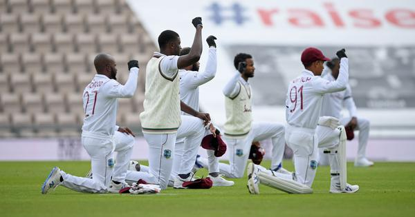 West Indies' Jason Holder disappointed by cricket's lack of solidarity in anti-racism protests