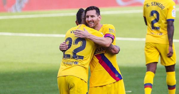 La Liga: Messi continues his assist spree as Barcelona keep title race alive with Valladolid win