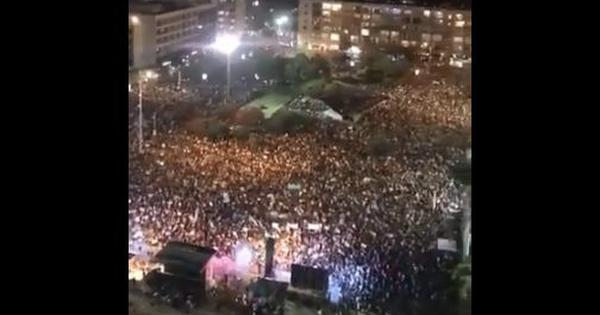 Watch: Thousands protest in Israel's Tel Aviv against government's handling of Covid-19 crisis