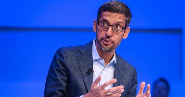 Google will invest Rs 75,000 crore to accelerate India's digital economy, announces Sundar Pichai