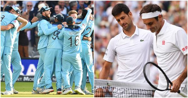 Pause, rewind, play: World Cup. Wimbledon. July 14, 2019. One day, two incredible finals