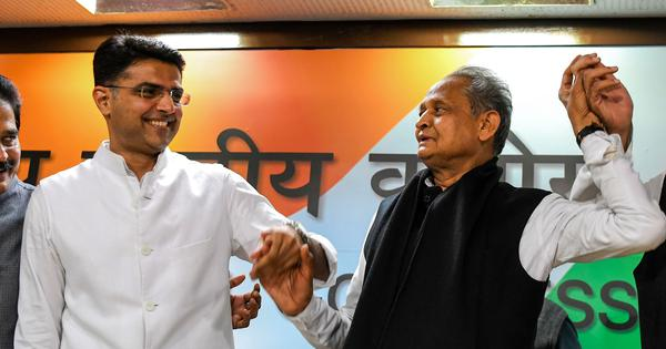 Rajasthan crisis: Gehlot holds meeting, Shashi Tharoor says he is sad to see Pilot leave Congress