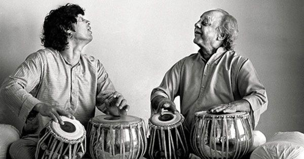 Listen: The 11-matra Char taal ki sawari taal performed by Alla Rakha, Zakir Hussain and others