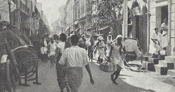 The Indian exodus from Burma during WW II bears eerie similarity to migrant flight during lockdown
