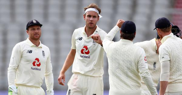 Father penalises son: Stuart Broad fined by match referee Chris for using 'inappropriate language'