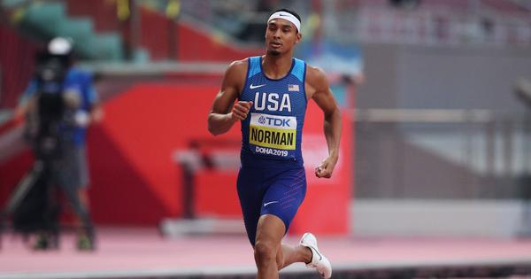 Watch: USA's Michael Norman clocks sub-10 100m timing, joins elite club of sprinters