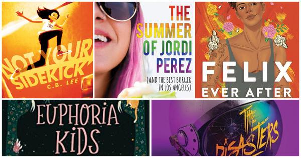 Want to read about queer teens saving the world or having a rom-com moment? Here are five books