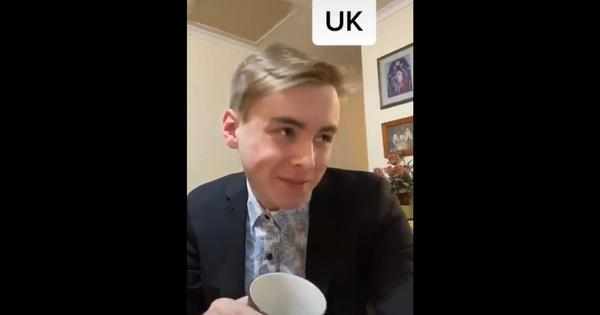 Watch: Young man imitates accents and responses from different countries to the pandemic