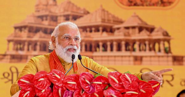 Modi's speech in Ayodhya marks a decisive turn away from secularism for India