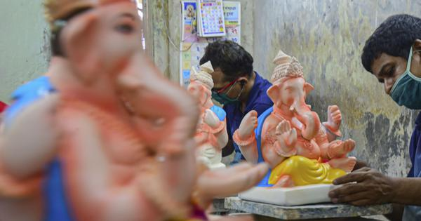 From smaller idols to larger tanks, how Covid-19 is changing Mumbai's Ganesh festival