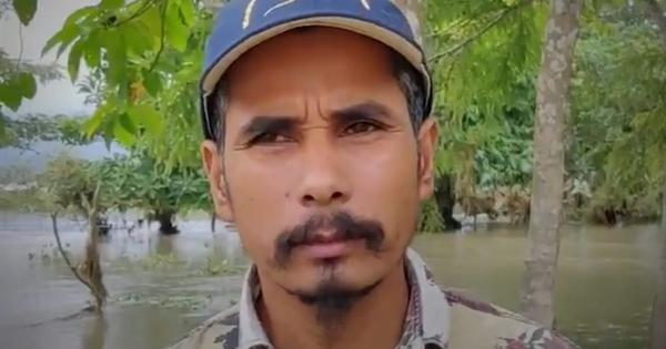 Watch: This wildlife conservationist is saving desperate animals from the Assam floods