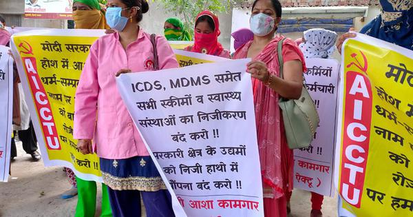 Coronavirus: Around 6 lakh ASHA workers launch protest, demand better pay, health insurance