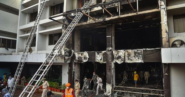 10 dead in fire at makeshift coronavirus facility in Vijayawada, Modi says he's 'deeply anguished'