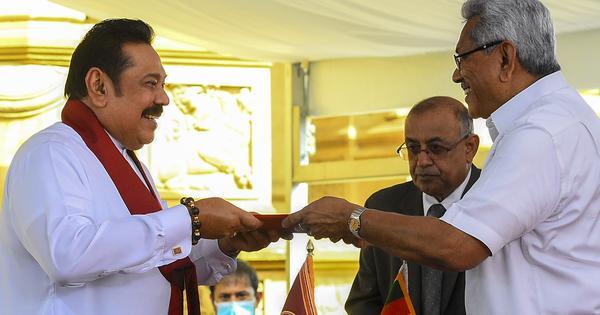 Sri Lanka: Mahinda Rajapaksa takes oath as prime minister for fourth time