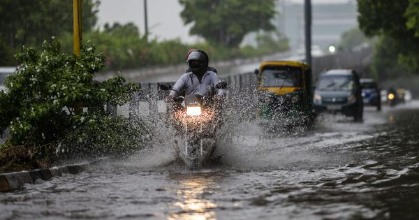 Weather department issues orange rain alert for Delhi, warns of traffic disruption, flooding