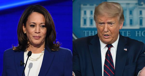 Trump promotes 'birther theory' against Kamala Harris, claims she 'may not be eligible' for VP post