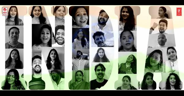 Watch: AR Rahman releases an Independence Day special with 65 singers singing in five languages