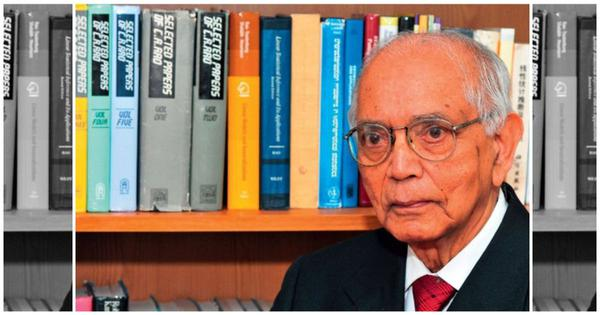 As statistician CR Rao turns 100, a young colleague explains why he's considered a living legend