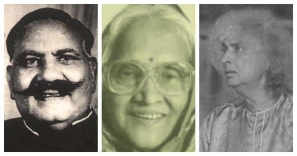 Bade Ghulam Ali Khan, Padmavati Shaligram Gokhale and Shivkumar Sharma perform raag Shuddha Sarang