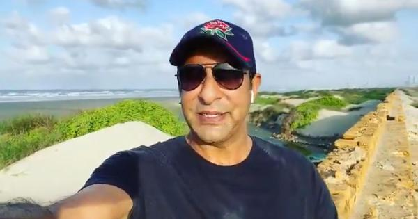 'Cowardly, insolent people do it': Watch cricketer Wasim Akram's message to social media trolls