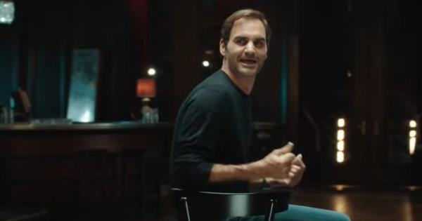 Watch: Roger Federer sings The Beatles' 'With a Little Help From My Friends' for an advertisement