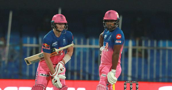 IPL 2020: Samson, Smith, Tewatia take Rajasthan Royals past CSK in high-scoring game at Sharjah