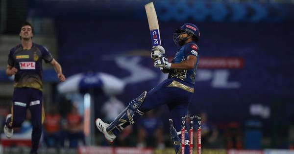 Watch: Filled with trademark pull shots, Rohit Sharma hits majestic 80 against KKR in IPL 2020
