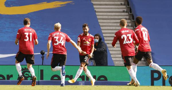 Premier League: Man United win thriller at Brighton, Chelsea fightback to earn a point at West Brom