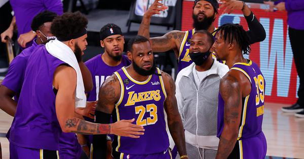 LeBron James stars against Nuggets as Lakers win Western Conference title and reach NBA finals