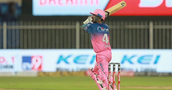 Watch: Rahul Tewatia and Sanju Samson's sensational knocks help RR beat KXIP after record chase