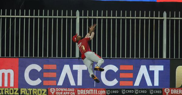 Watch: KXIP's Nicholas Pooran pulls off one of the greatest pieces of fielding ever seen in cricket
