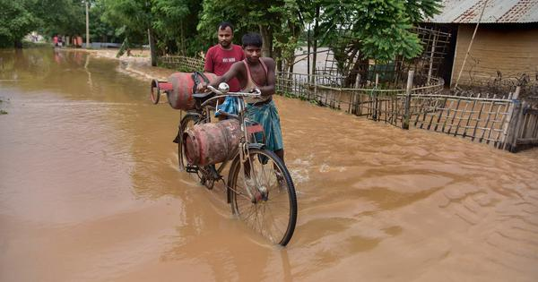Assam: One dead, over 2.25 lakh affected in third wave of floods