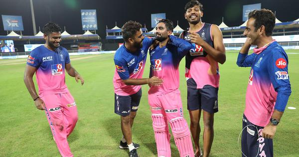 Watch: A peek into Rajasthan Royals' post-match celebrations after epic run-chase against KXIP