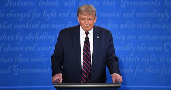 'India doesn't exactly give a straight count on Covid-19 deaths': Donald Trump in first debate