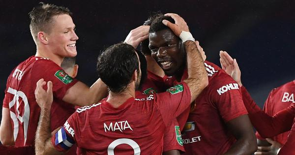 Video highlights: Man United, Man City progress in League Cup with comfortable victories