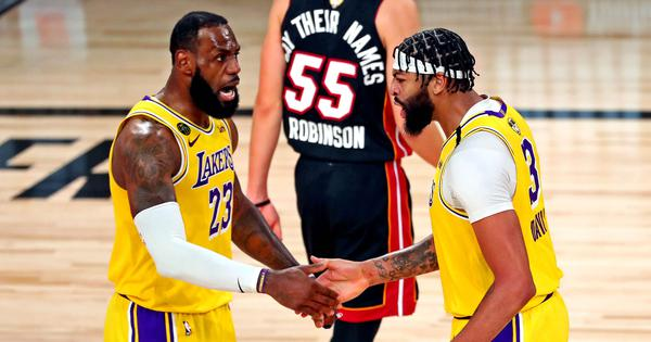 NBA Finals: Lakers hope for Davis boost for game six as Butler-inspired Heat look to level series