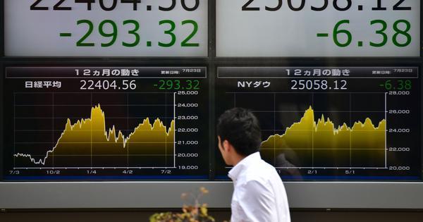 US futures, global stock markets decline on news of Donald Trump contracting coronavirus
