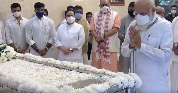 Ram Vilas Paswan's body taken to his Delhi home, cremation on Saturday
