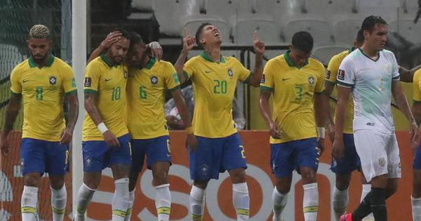 World Cup qualifiers: Firmino's brace helps Brazil thump Bolivia, Colombia ease past Venezuela