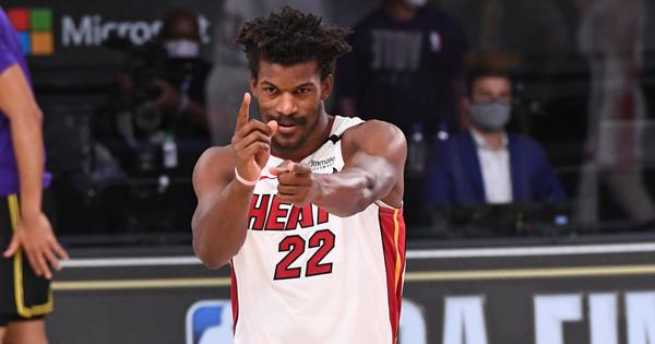 NBA Finals: Jimmy Butler stars as Miami Heat keep title hopes alive with win over LA Lakers