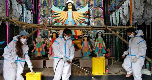 No visitors to be allowed inside Durga Puja pandals this year, says Calcutta High Court