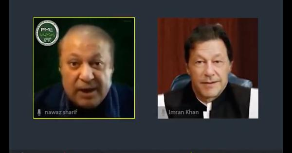Watch: Hilarious deep fake video of Pakistan's Imran Khan and Nawaz Sharif singing 1980s hit
