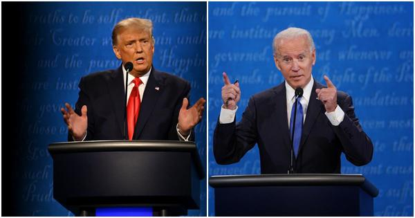 'I am the least racist person in this room': Trump. Watch highlights of US presidential debate