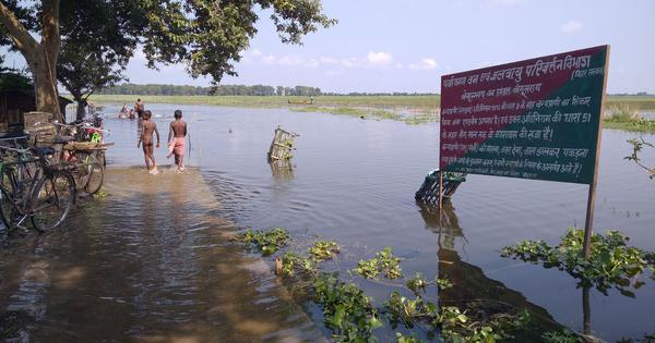 The slow disappearance of a lake in Bihar has pitted two castes against each other