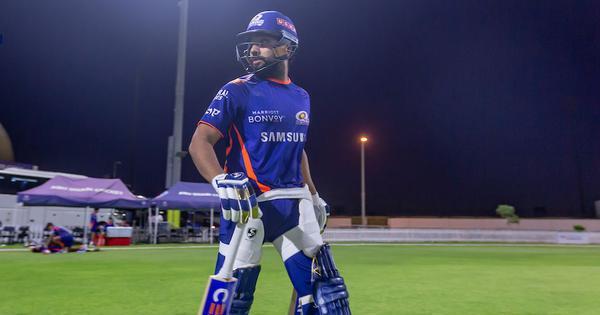 Watch: Injured Rohit Sharma back to batting in Mumbai Indians' net session