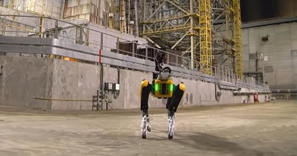 Watch: Spot the robot dog sniffs out radiation at nuclear power plant remnants in Chernobyl