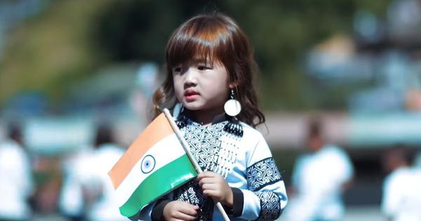 Watch: Four-year-old girl from Mizoram stuns social media with her version of 'Maa Tujhe Salaam'