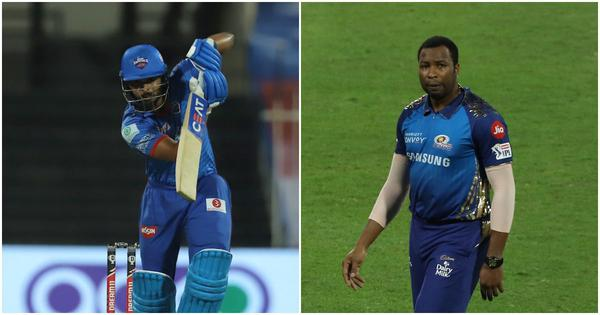 IPL 2020, DC vs MI live updates: Delhi Capitals rebuild after losing Dhawan, Shaw early