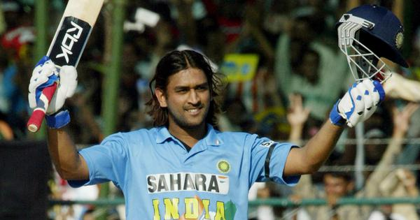 Watch: When MS Dhoni blasted 183 not out in 2005 – still the highest ODI score by a wicketkeeper